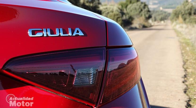 Prueba Alfa Romeo Giulia inscripción