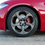Prueba Alfa Romeo Giulia llanta