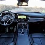Prueba Alfa Romeo Giulia diseño interior