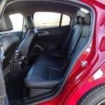 Prueba Alfa Romeo Giulia plazas traseras