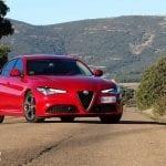 Prueba Alfa Romeo Giulia delantera