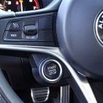 Prueba Alfa Romeo Giulia botón arranque