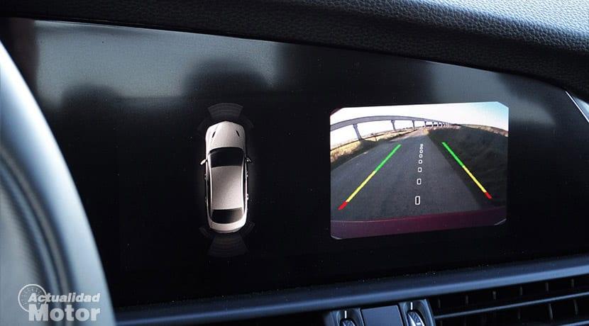 Cámara de marcha atrás pantalla Alfa Romeo Giulia