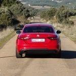 Prueba Alfa Romeo Giulia trasera