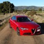 Prueba Alfa Romeo Giulia frontal