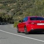 Prueba Alfa Romeo Giulia parte trasera