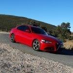 Prueba Alfa Romeo Giulia perfil