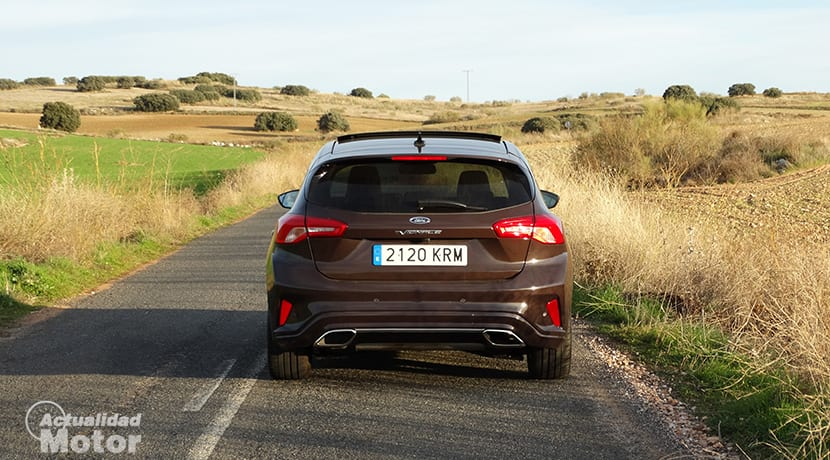 Ford Focus trasera