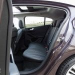 Ford Focus Vignale plazas traseras