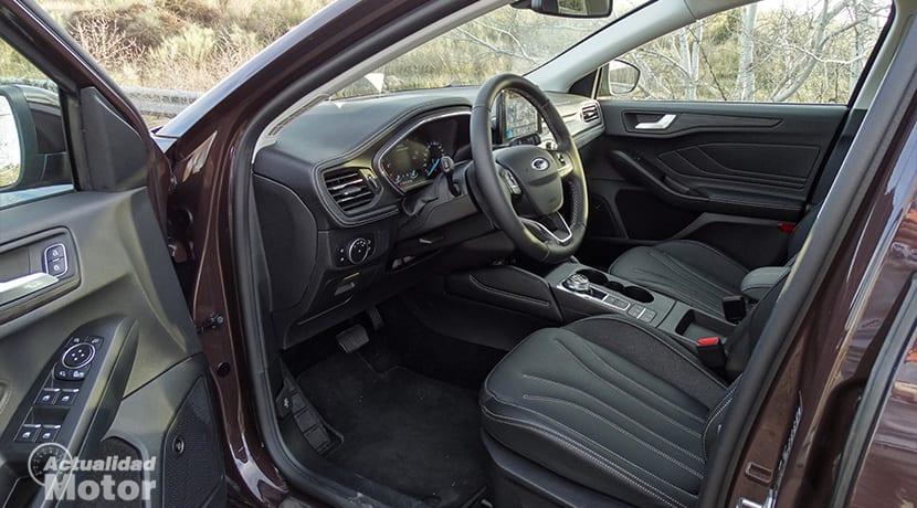 Interior del Ford Focus Vignale