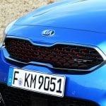 Prueba Kia ProCeed GT parrilla