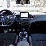 Prueba Kia ProCeed GT diseño interior