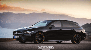 Recreación X-Tomi Design Mercedes CLA Shooting Brake