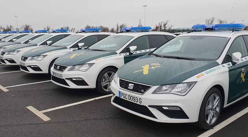 249 Seat León ST para Guardia Civil