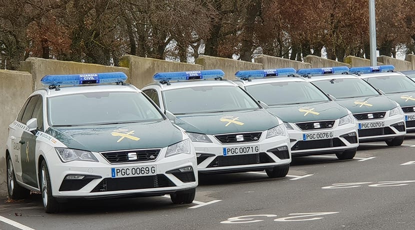 Seat León de la Guardia Civil
