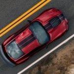 Entradas de aire en el capó del Shelby GT500 2019