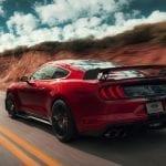 Trasera del Shelby GT500 2019