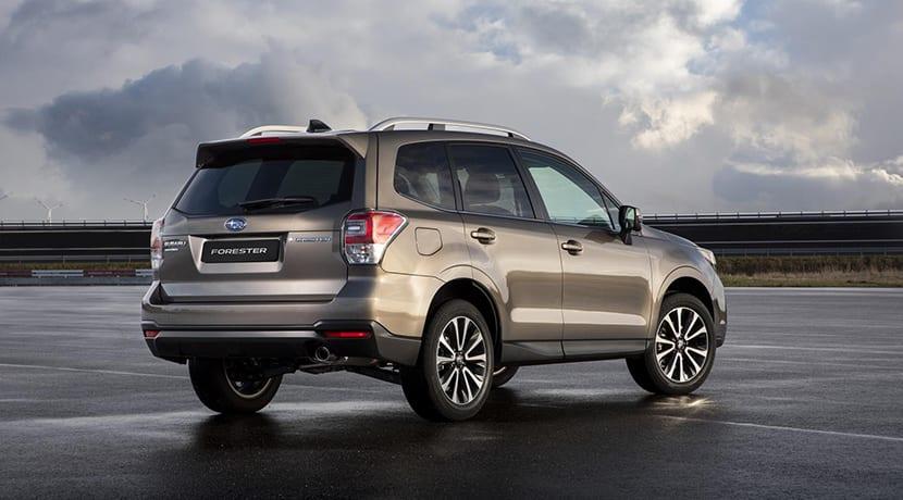 Subaru Forester trasera