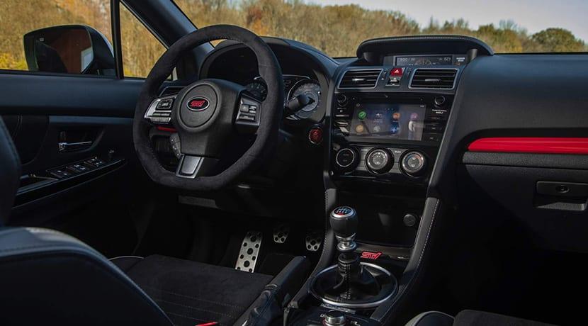 Subaru WRX STi S209 interior