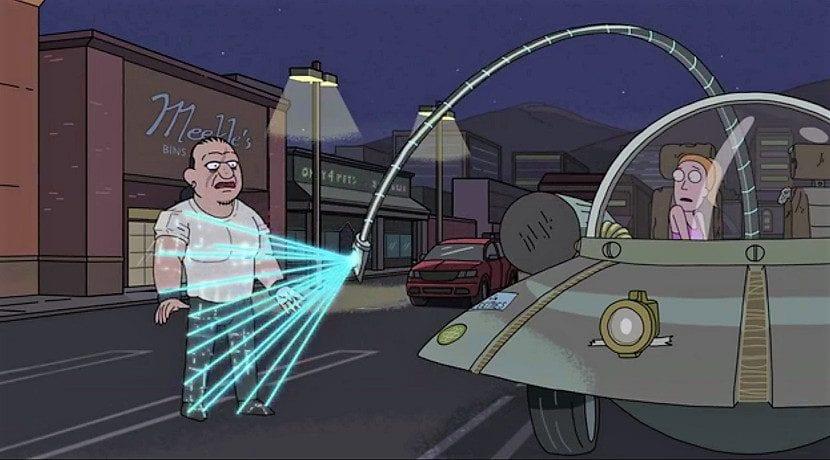 Mantener a Summer a salvo Heaster Egg de Tesla en referencia a Rick y Morty