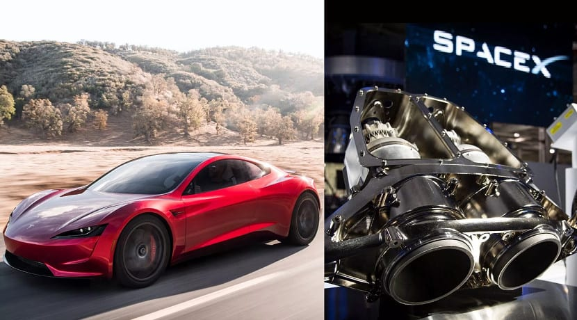 Tesla Roadster Paquete SpaceX