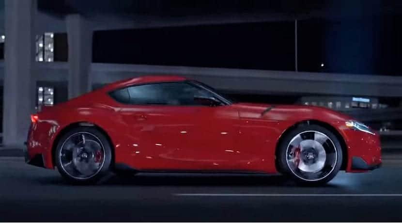 Toyota Supra vídeo