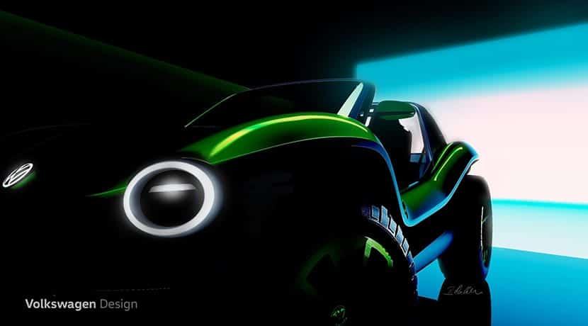 Buggy eléctrico de Volkswagen prototipo