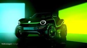 Volkswagen e-buggy eléctrico prototipo