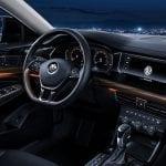 Interior del Volkswagen Passat 2019 chino