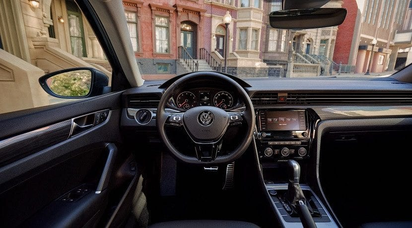 Interior del del Volkswagen Passat 2019