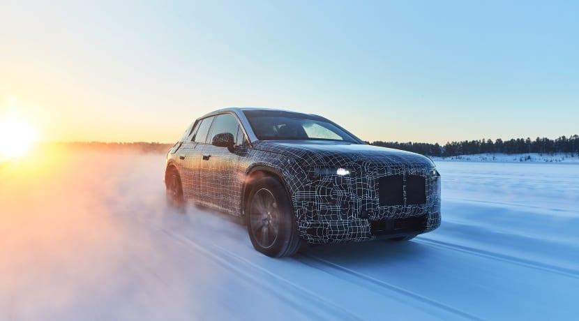 BMW iNEXT 2019 frontal pruebas dinámicas