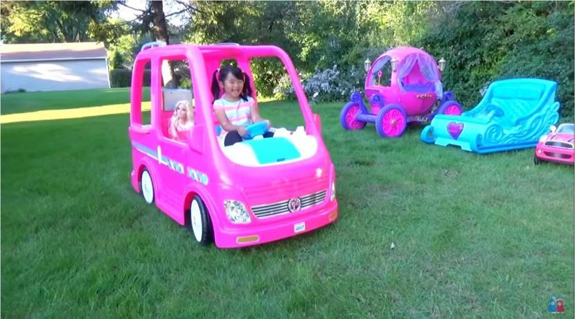 Barbie Camper eléctrico