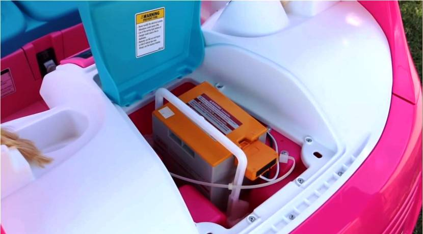 Barbie Camper eléctrico 1