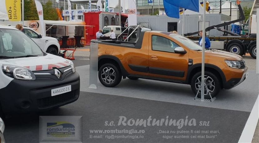 Dacia Duster Pick Up Romturingia