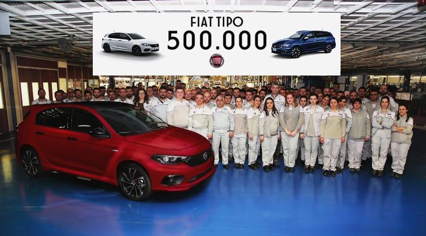Fiat Tipo 500 mil unidades