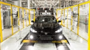 Honda Civic Manufacturin Swindon UK