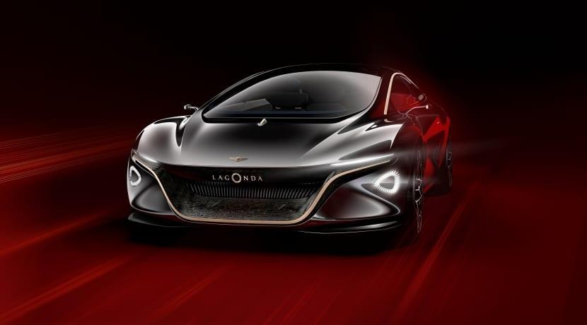 Lagonda Vision Concept vista frontal