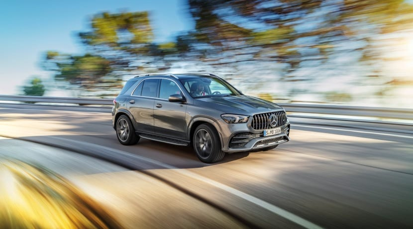 Mercedes-AMG GLE 53 4MATIC+ frontal