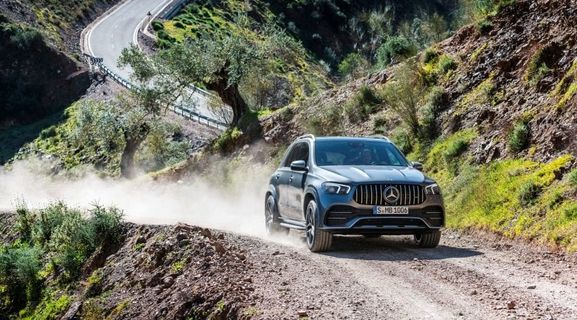 Mercedes-AMG GLE 53 4MATIC+ frontal derecho