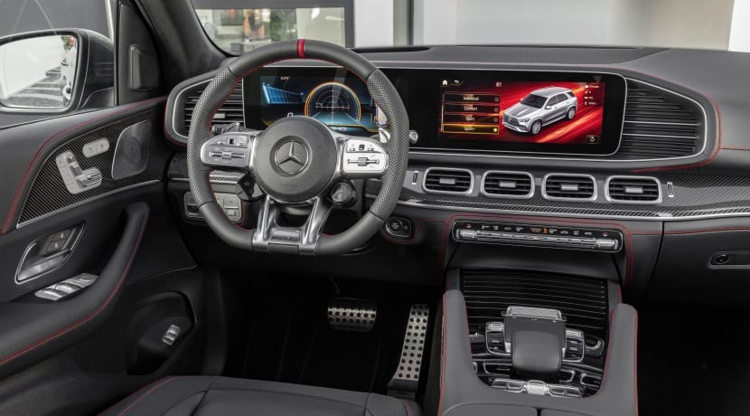 Mercedes-AMG GLE 53 4MATIC+ cockpit