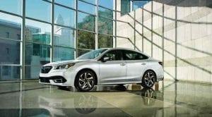 Subaru Legacy vista frontolateral