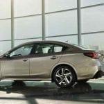 Subaru Legacy vista trasera