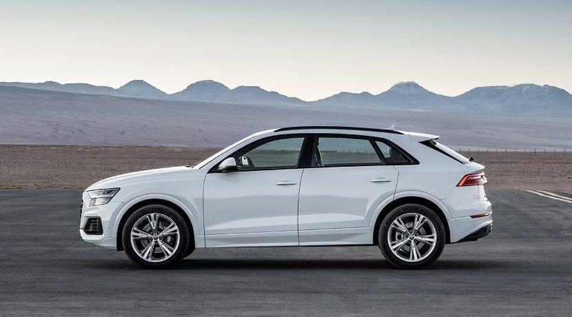 El Audi Q8 recibe un V6 gasolina con 340 CV