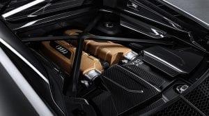 Motor V10 del Audi R8 V10 Decennium