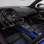 Audi TT RS diseño interior