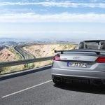 Audi TT RS Roadster trasera
