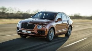 Bentley Bentayga Speed W12 dinámica