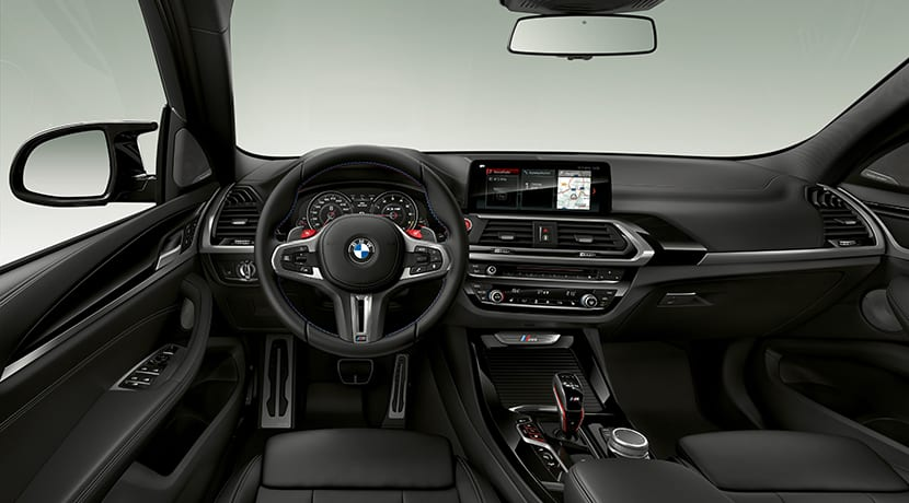 Interior del BMW X3 M