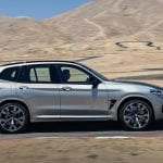 Lateral BMW X3 M