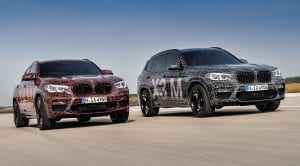 BMW X3 M y BMW X4 M frontal